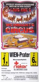 Louis Knie's Weihnachts Circus Circus poster - Austria, 1998