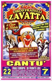 Circo Fratelli Zavatta Circus poster - Italy, 2017