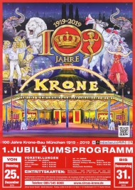 Circus Krone Circus poster - Germany, 2019