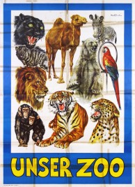 Circus Williams - Unser Zoo Circus poster - Germany, 1967