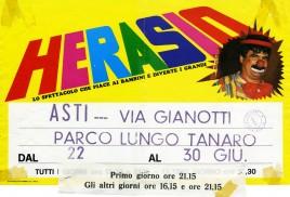 Circo Herasio Circus poster - Italy, 1994