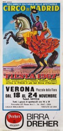 Circo di Madrid Circus poster - Italy, 1967