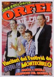Circo Orfei Circus poster - Italy, 2013