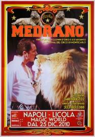 Circo Medrano Circus poster - Italy, 2010