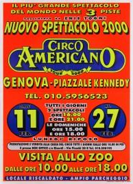 Circo Americano Circus poster - Italy, 2000