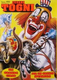 Circo Cesare Togni Circus poster - Italy, 2006