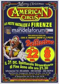 American Circus Circus poster - Italy, 2007