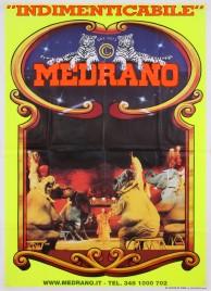 Circo Medrano Circus poster - Italy, 2004