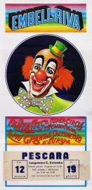 Circo Embell Riva Circus poster - Italy, 1982