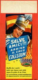Circo Coliseum Circus poster - Italy, 1965