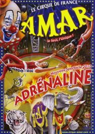 Cirque Amar Circus poster - France, 2010