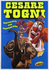 Circo Cesare Togni Circus poster - Italy, 2008
