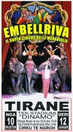 Circo Embell Riva Circus poster - Italy, 2009