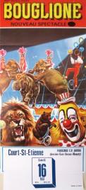 Cirque Bouglione Circus poster - Belgium, 1987