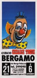 Circo Cesare Togni Circus poster - Italy, 1981