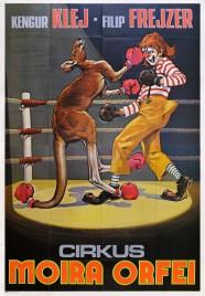 Cirkus Moira Orfei Circus poster - Italy, 1979