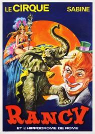 Cirque Sabine Rancy Circus poster - France, 1976