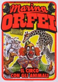 Circo Marina Orfei Circus poster - Italy, 2015