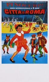 Circo Citta' di Roma Circus poster - Italy, 1996