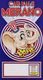 Cirkus Merano Circus poster - Norway, 1981