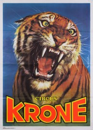 Circus Krone Circus poster - Germany, 1982