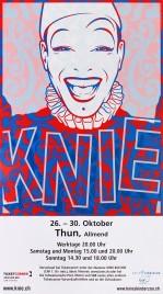 Circus Knie Circus poster - Switzerland, 2007