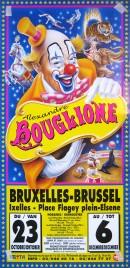 Cirque Alexandre Bouglione Circus poster - Belgium, 1998