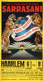 Circus Sarrasani Circus poster - Germany, 1968