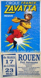 Cirque Franck Zavatta Circus poster - France, 1994
