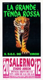 La Grande Tenda Rossa Circus poster - Italy, 2002