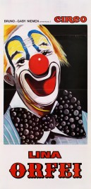 Circo Liana Orfei Circus poster - Italy, 1978