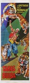 Lo Spettacolo delle Meraviglie presenta Taras Bulba Circus poster - Italy, 1969