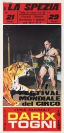 Circo Darix Togni Circus poster - Italy, 1968