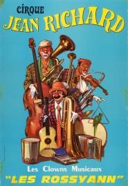 Cirque Jean Richard Circus poster - France, 1974