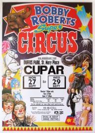 Bobby Roberts Super Circus Circus poster - England, 1994