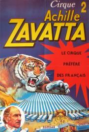 Cirque Achille Zavatta Circus poster - France, 0