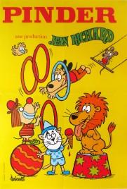 Pinder - Jean Richard Circus poster - France, 1982
