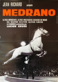 Cirque Medrano Circus poster - France, 1978