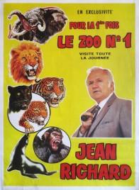 Cirque Jean Richard Circus poster - France, 1983