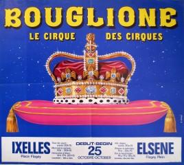 Bouglione - Cirque d'Hiver de Paris Circus poster - France, 1977