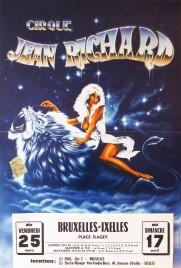 Cirque Jean Richard Circus poster - France, 1982
