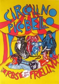 Circolino Pico Bello Circus poster - Germany, 1994