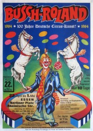Circus Busch-Roland Circus poster - Germany, 1985