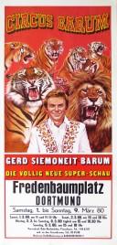 Circus Barum Circus poster - Germany, 1980