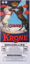 Circus Krone Circus poster - Germany, 1991