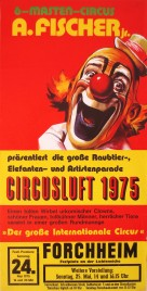 Circus A. Fisher Jr. Circus poster - Germany, 1975