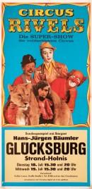 Circus Rivels Circus poster - Germany, 1978