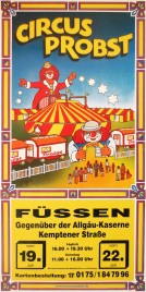 Circus Probst Circus poster - Germany, 0