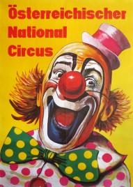 Österreichischer National Circus Circus poster - Austria, 1976