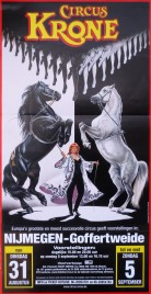 Circus Krone Circus poster - Germany, 2001